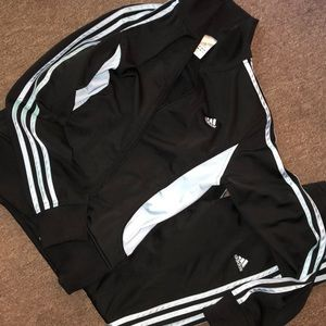 Adidas jogger suit
